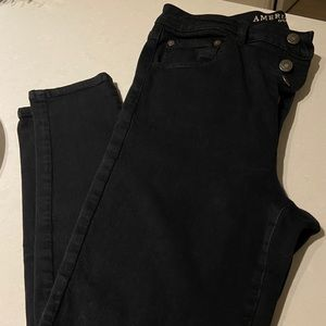 High Rise Soft Jegging with Button up Fly